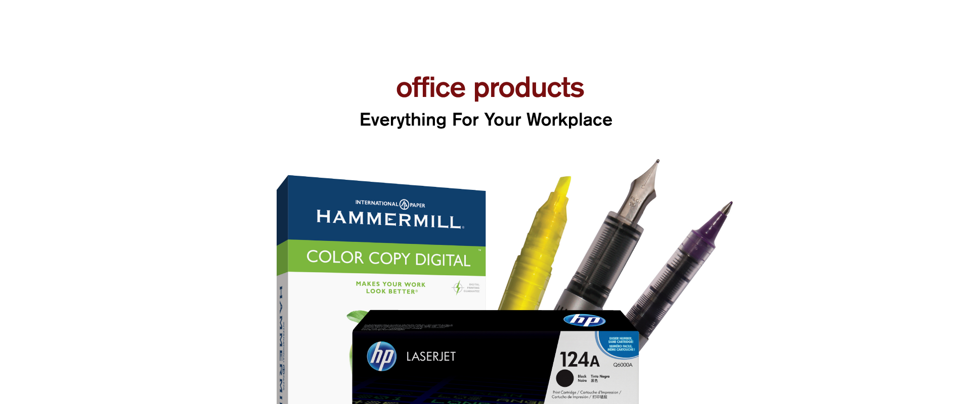 It s easy to find the office supplies copy paper furniture ink - 0 1